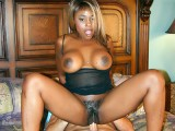 Ebony Gets Her Hairy Cunt Banged