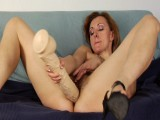 Lora and monster dildo