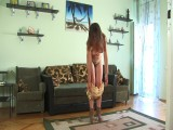 Nadya at her boyfriends house